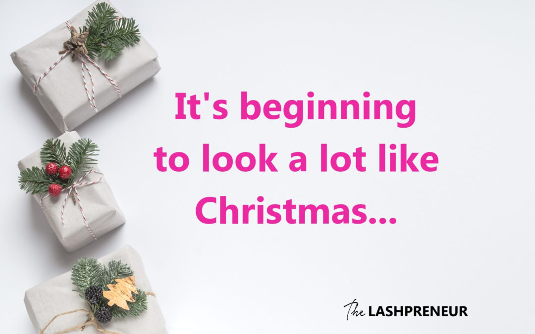 merry christmas in october your lash business holiday planning tips