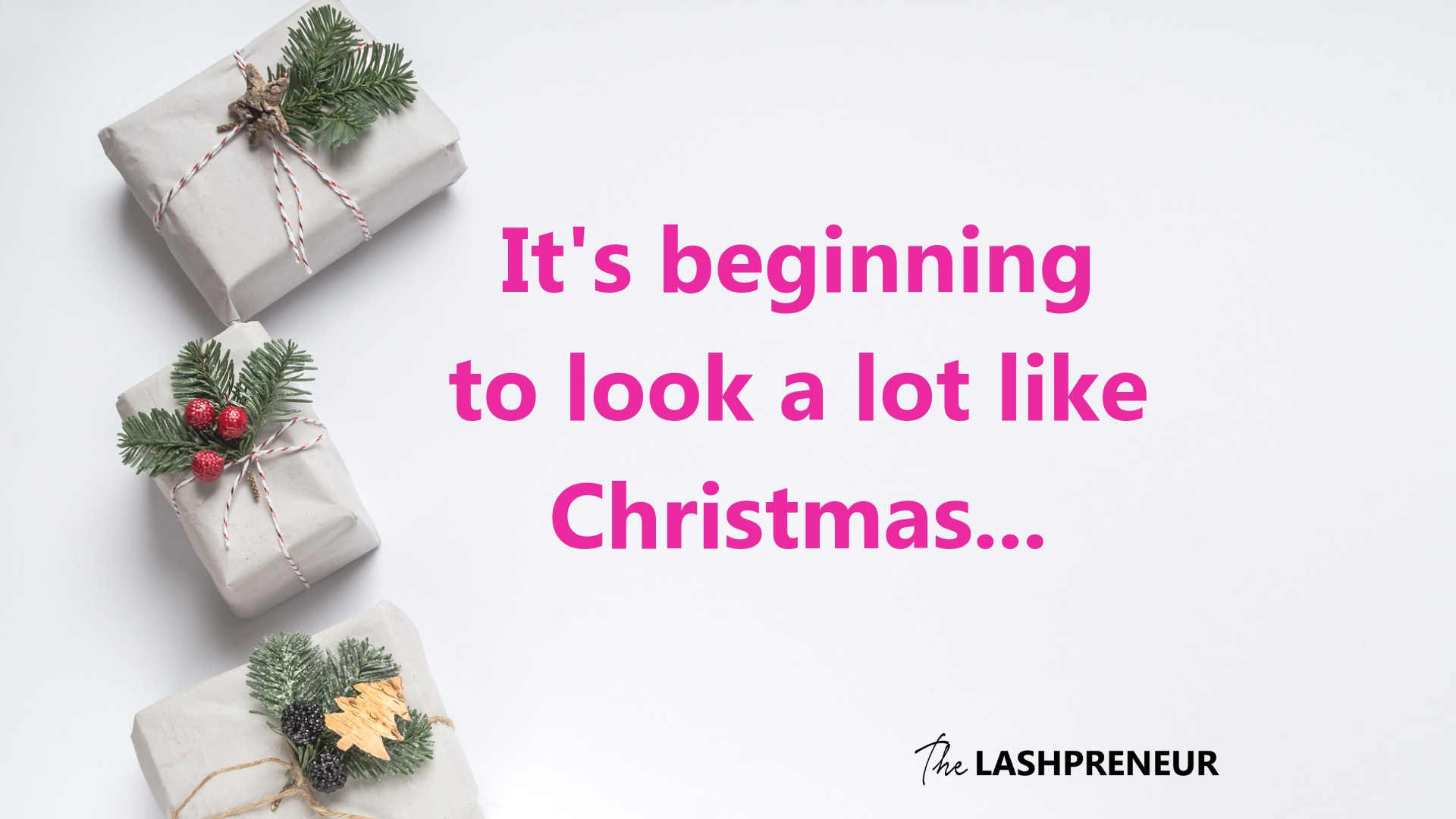 Merry Christmas…in October? Your Lash Business Holiday Planning Tips ...