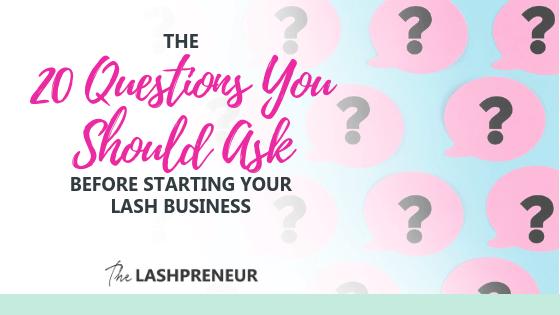 Start My Lash Biz | The Lashpreneur